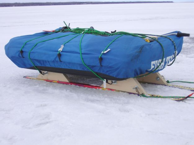To pull your gear here it is step by step plans for the smitty sled